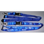 Satin Ribbon Stitched Lanyards(RB-013)