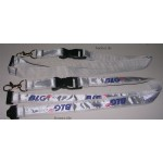 Satin Ribbon Stitched Lanyards(RB-006)