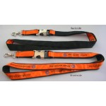 Satin Ribbon Stitched Lanyards(RB-014)