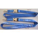Satin Ribbon Stitched Lanyards(RB-015)