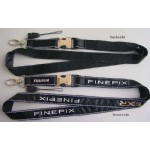 Satin Ribbon Stitched Lanyards(RB-007)