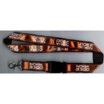 Satin Ribbon Stitched Lanyards(RB-008)