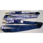Satin Ribbon Stitched Lanyards(RB-011)
