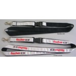 Satin Ribbon Stitched Lanyards(RB-017)