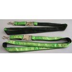 Satin Ribbon Stitched Lanyards(RB-022)
