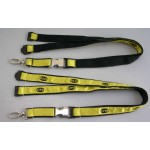 Satin Ribbon Stitched Lanyards(RB-023)