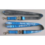 Satin Ribbon Stitched Lanyards(RB-027)