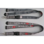 Satin Ribbon Stitched Lanyards(RB-029)